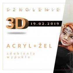Profesjonalny kurs zdobień 3D z Natalią Lariną
