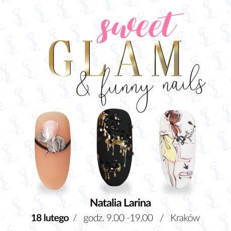 Sweet Glam & Funny Nails