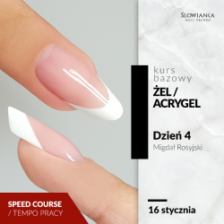 Budowa paznokci metodą żelową/acrygelową- Migdał Rosyjski