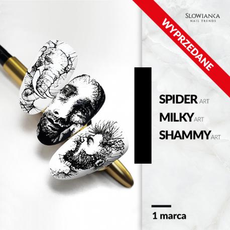 Spider Art/ Milky Art/ Shammy Art