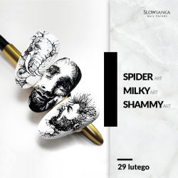 Spider Art/ Milky Art/ Shammy Art
