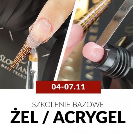 Budowa paznokci metodą żelową/acrygelową