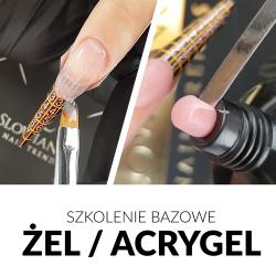 BUDOWA PAZNOKCI METODĄ ŻELOWĄ / ACRYGEL - LATO 2021